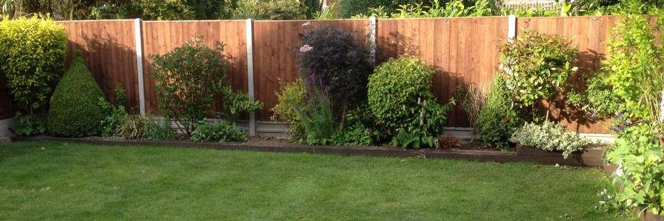 Your Garden & Fencing the way it should be...